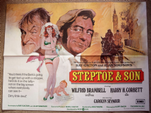 Steptoe and Son Film Poster - UK Quad